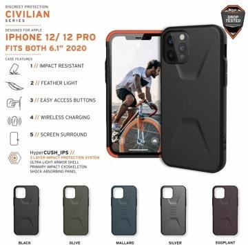 Ốp UAG Civilian iPhone 12 Pro 6.1 (chính hãng)